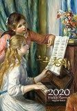 Renoir Weekly Planner 2020: Auguste Renoir Diary 2020, Weekly Planner with Calendar