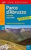 Parco d'Abruzzo. Carta escursionistica 1:25.000 (Trek map)