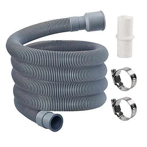 Tubo de Drenaje Lavadora Lavavajillas Tubería Conexión Herramienta Selling Plug Trap Deodorant Telescopic Tubería de alcantarillas Accesorios Fácil de Instalar (Color : 2m, Length : 200cm)