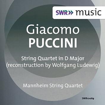 Puccini: String Quartet in D Major