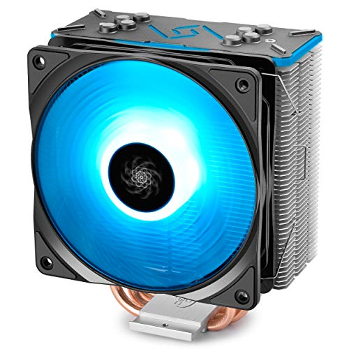 DEEPCOOL GAMMAXX GT BK, CPU Air Cooler, SYNC RGB Fan and RGB Black Top Cover, Cable or...