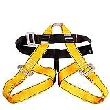 Half Body Climbing Harness Sicherheit Im Freien Abseilen Bergsteigen Gürtel Rock,B