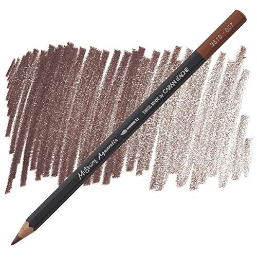 Caran D'ache Museum Aquarelle Pencil, Chestnut (3510.057)