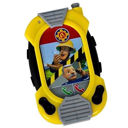 Feuerwehrmann Sam Messenger Handy Kinder Feuerwehr | Licht & Sound | Simba