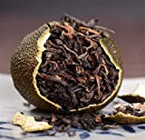 RuXinBB Tea,xiaoqinggan tea Xinhui Supreme Green Mandarin Orange 8 Year Ripened Pu'er Black Tea Gift cans *300g正宗新会天马小青柑8年宫廷级熟普洱茶300克礼品罐装 (Gong ting ji (AAA))