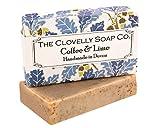 Clovelly Soap Co. Handgemachte Kaffee & Limette Naturseife für alle Hauttypen 100g