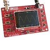 KKmoon DSO138 2.4' TFT Digital Osciloscopio Equipo燚iy Partes燩ort醫il Tamano de Bolsillo燬md Soldado Electr髇ico Aprendizaje Conjunto 1Msps