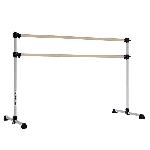 BNB5 5ft Portable Single Bar w//Bag Freestanding Stretch//Dance Bar USA Made /… Vita Vibe Ballet Barre