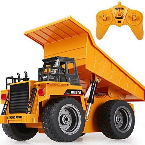 LoKauf 1:18 6CH Dumper Kipper mit Fernbedienung RC Bagger Metall Ferngesteuert für Kinder*