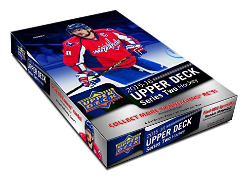 2015/16 Upper Deck Series 2 NHL Hockey HOBBY box