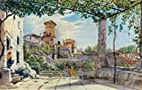 Kunstdruck/Poster: Franz Ludwig Catel Villa Malta in Rom -