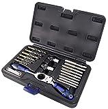Astro Pneumatic Tool 7580 SAE Automotive Drill & Tap Set