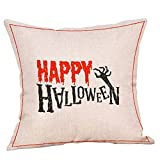 Beonzale Halloween Kissen Decken Herbst Dekor Kissenbezug Sofa Taille Throw Kissenbezug