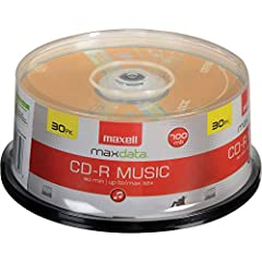 With storage for 80 minutes/ 700MB recording time, you can create premium compilations of your favorite tracks to add variety to your listening experience Playback on any CD drive, CD-R audio recorder or CD player and record on computer CD writers or...