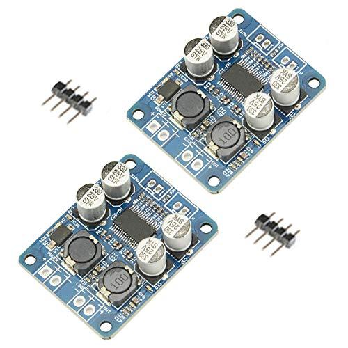 Youmile 2Pack Tarjeta de Amplificador de Audio DC8-24V TPA3118 Módulo AMP estéreo...