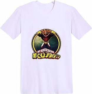 My Hero Academia Casual Estate T-Shirt All Might Katsuki Bakugou Activewear Camicie Anime Midoriya Izuku Deku Todoroki Sho...