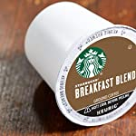 Starbucks Medium Roast K-Cup Coffee Pods — Caramel for Keurig Brewers — 6 boxes (60 pods total) 14 FLAVOR AND ROAST: A lighter, gentler take on the Starbucks roast, Starbucks Veranda Blend is flavorful without being overly bold PACKAGING CHANGE: We are currently updating our packaging look. You may receive either package for a limited time FOR KEURIG BREWERS: Starbucks K-Cup pods are designed for use with the Keurig Single Cup Brewing System
