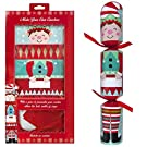 Pack Of 6 Make Your Own Personalised Christmas Crackers Hats Snaps Cute Elf