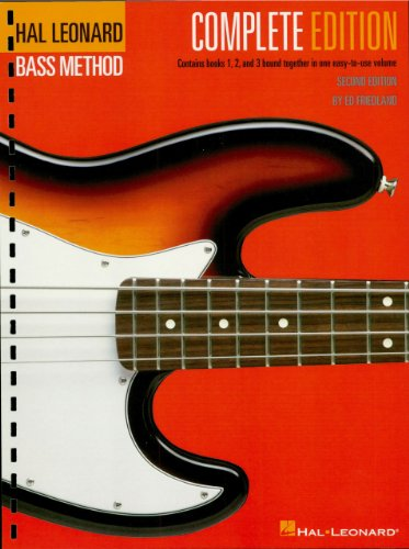 Hal Leonard Electric Bass Method - Complete Edition: Contains Books 1, 2, and 3 in One Easy-to-Use Volume (Hal Leonard Bass Method) (English Edition)
