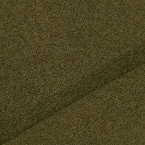 Benedict caldo et spesso 19,99/€//m stoffa//tessuto al metro nero lana pregiata in pura lana vergine