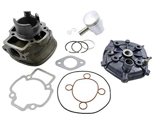 Zylinder Kit 50ccm inkl. Kopf für GILERA DNA 50cc, Runner, NRG, Quartz, Zip 2 SP, NTT