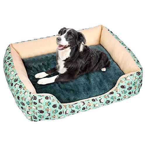 Basenla Katzenbett, Haustier Isomatte. Warmes Haustierbett Katzenbett, Katzenschlafmatte, Haustierbett zum Schlafen von Kätzchen. Es ist auch für kleinere Hunde geeignet.(Grün,S)