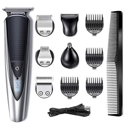 Tondeuse à barbe Hatteker - Pour homme - Étanche