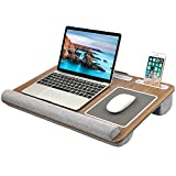 HUANUO Lap Desk - Fits up to 17 inches Laptop Desk, Built in Mouse Pad & Wrist Pad for Notebook, MacBook,...