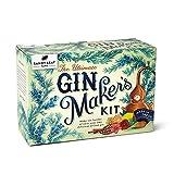 Sandy Leaf Farm Gin Making Kit – 10 Bottle Gin Maker's Set w/ Pink & Citrus Flavour Spice Blends