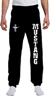 Ford Mustang Sweatpants Vertical Ford Motor Comapny Lounge Pants