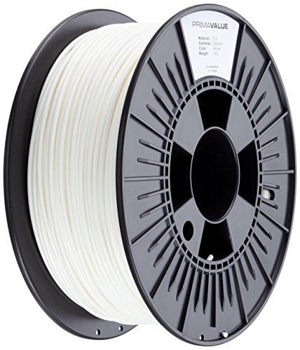Prima Filaments PV-PLA-285-1000-WH Filamento Pla, 2.85 mm, Bobina da 1 kg, Bianco