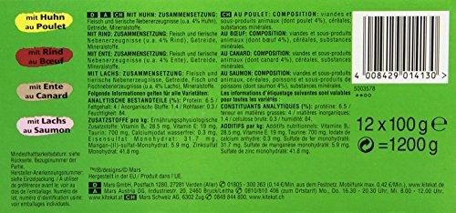 Kitekat Katzenfutter Bunte Vierfalt in Soße, 48 Beutel (1 x 48 x 100 g) - 4