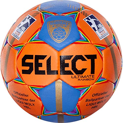 Select Handball Ultimate Elite Rainbow Orange-Blau 3