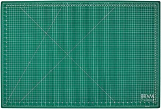 Breman Precision Self Healing Cutting Mat - A1 24x36 Inches Sewing Craft Quilting Fabric Rotary Cutting Mat - Perfect for Crafters Hobbyists and Artists - 2 Sided 5 Ply PVC Craft Mat with Grid Lines