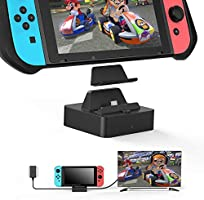Vivefox Switch TV Dock(Case Friendly), Aluminum Portable Switch Docking Station HDMI TV Adapter Switch Charging Dock...
