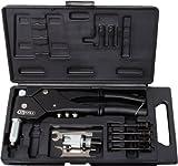 KS Tools 150.9610 Pack tenazas para Remaches universales, en maletín de plástico, Set de 10 Piezas