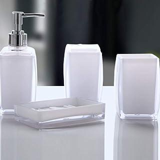 Accessori Per Il Bagno In Plexiglass.Amazon It Plexiglass Set Di Accessori Per Il Bagno Accessori Per Il Bagno Casa E Cucina