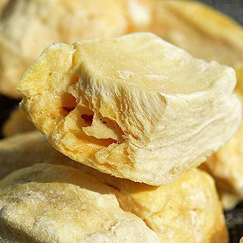 Glorious Inheriting origen asiatico congelado seco durian de pieza cuadrada crujiente con peso neto de 1KGS / 1,000 gramos