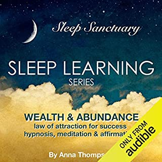 Wealth & Abundance: Law of Attraction for Success: Hypnosis, Meditation & Affirmations audiobook cover art