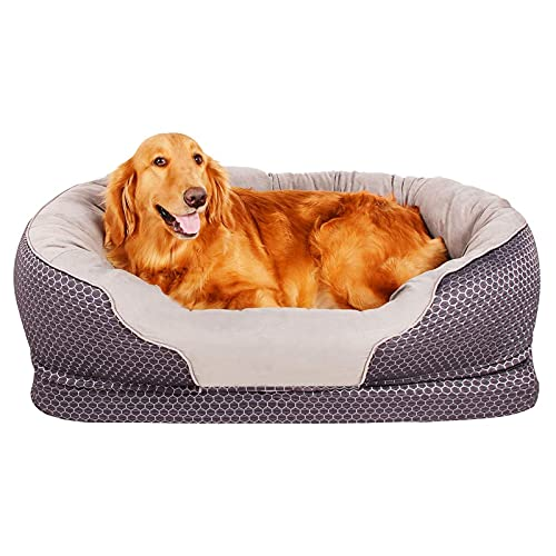 Dog Bed Large Pet Bed Pet Deluxe Orthopedic Dogs Lounge Sofa Pets...