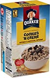 Quaker Instant Oatmeal Cookies 'N Creme in 8 individual packs, 304g total