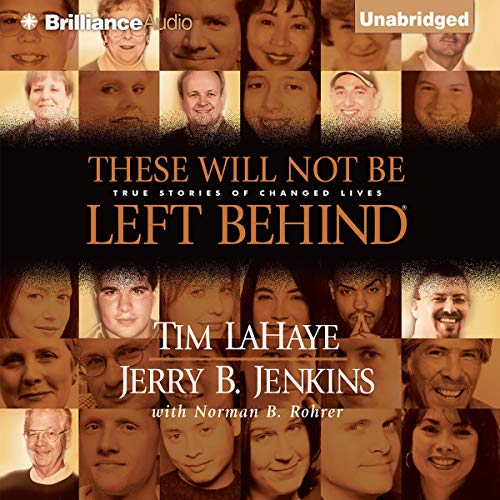 These Will Not Be Left Behind audiobook cover art