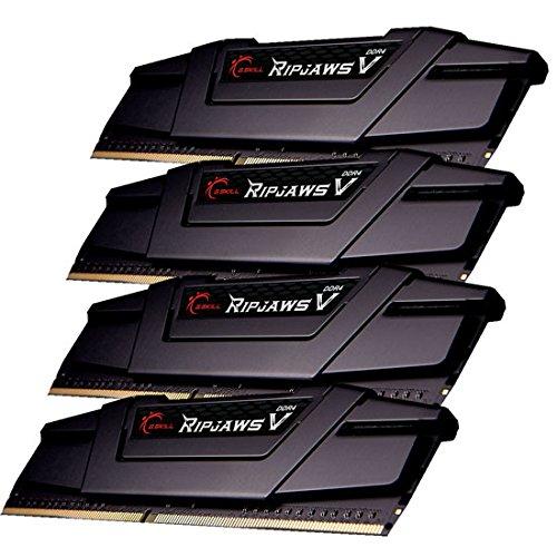 G.SKILL 32GB (4 x 8GB) Ripjaws V DDR4 PC4-28800 3600MHZ 288-Pin Desktop Memory Model F4-3600C17Q-32GVK