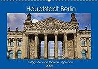 Hauptstadt Berlin (Wandkalender 2022 DIN A2 quer): Unser Hauptstadt Berlin und ihre Sehenswuerdigkeiten (Monatskalender, 14 Seiten )
