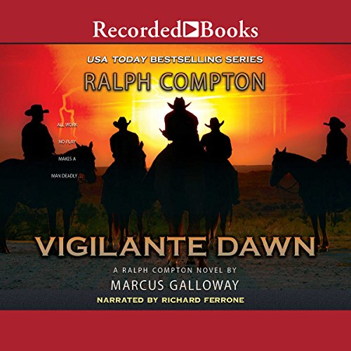Vigilante Dawn audiobook cover art