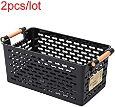 CHAHANG Kitchen Storage Basket Plastic Multi-Functional Vegetables Fruit Racks with Cover Storage Basket for Organizers St...
