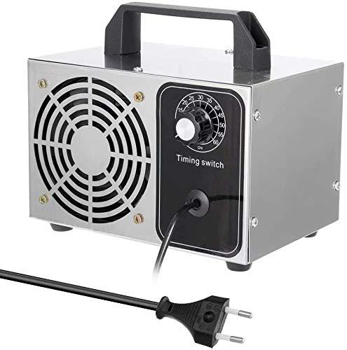 AUkaiqu12 Generador de ozono casero Generador de ozono portátil Purificador de Aire para el hogar Generador de ozono Esterilizador de ozono de bajo Consumo de energía