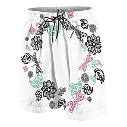 RenteriaDecor Baby Shorts Dragonfly Chef Pants Men S