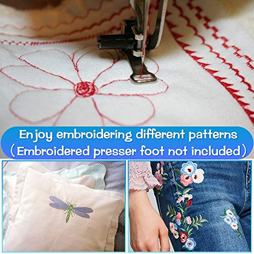 Uten Computerized Sewing Machine Electronic with 200 Stitches 8 Buttonholes