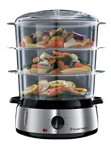 Russell Hobbs Cook@Home - Vaporera (800 W, Cocina Lenta, Sin BPA)